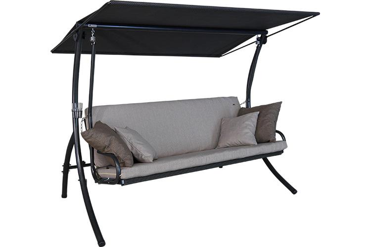 hollywoodschaukeln f r garten und terrassen von. Black Bedroom Furniture Sets. Home Design Ideas