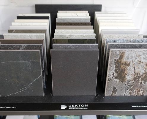 Große Auswahl an DEKTON-Platten