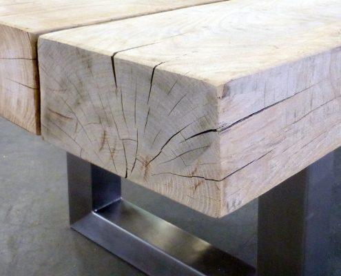 Rustikales Eichenholz