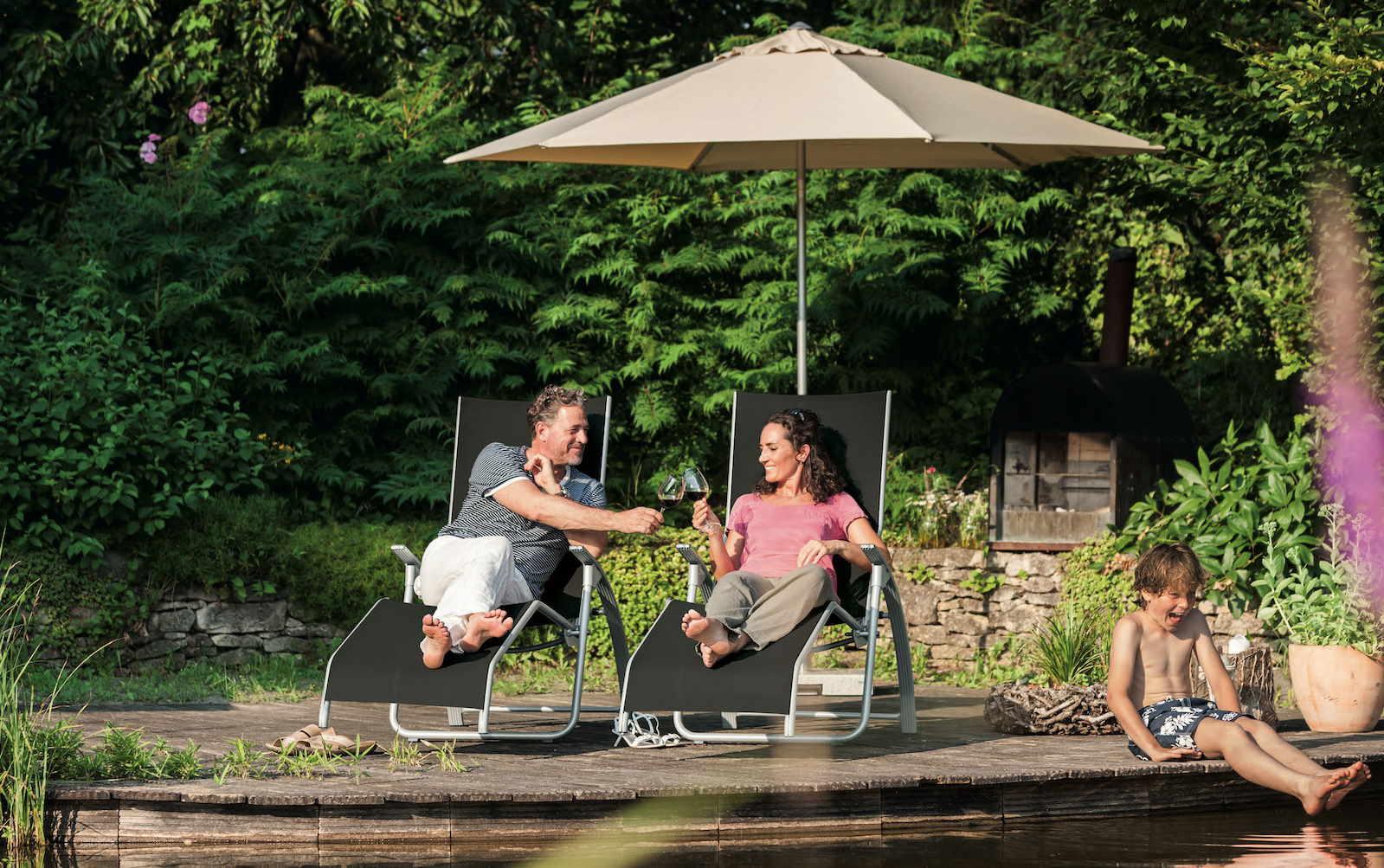 KETTLER Sonnenschirme bei Gartenmoebel-NRW