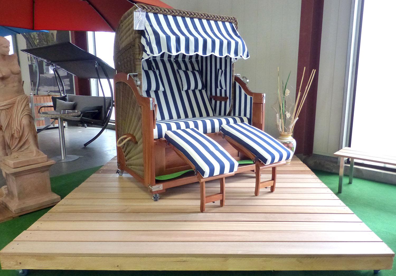 Schnellbau-Terrasse von Gartenmöbel-NRW