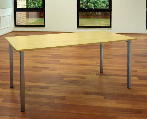 Schreibtisch mit Edelstahl von HammerDesign