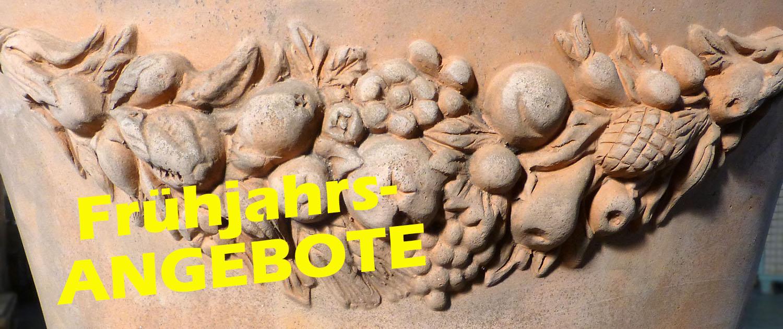 Terrakotta-Frühjahrsangebote bei gartenmoebel-nrw