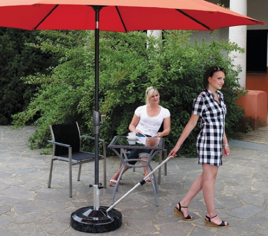 Mobiler Schirmständer