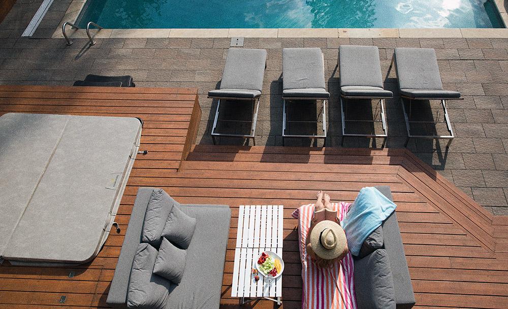 Terrassenbau mit der Dr. Hammer GmbH